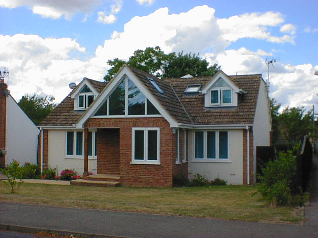 large chalet bungalow extension marlow