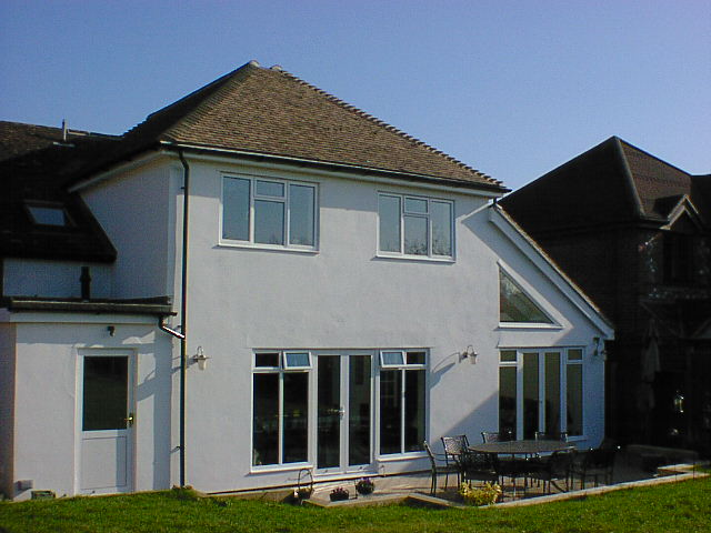large two storey rear extension marlow
