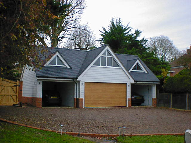 triple garage with room over at marlow bucks by the christopher hunt practice